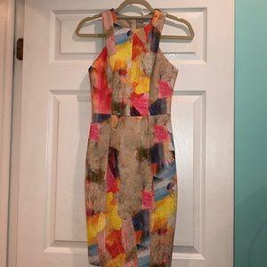 H&M Colorful sheath dress